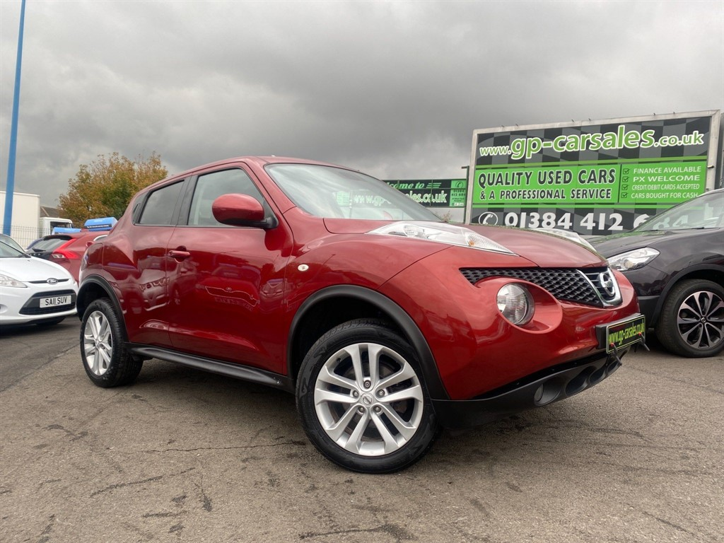 used Nissan Juke 16v Tekna in west-midlands