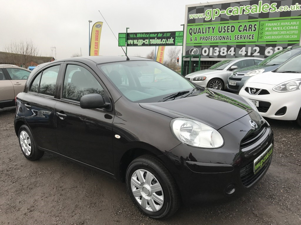 used Nissan Micra VISIA in west-midlands