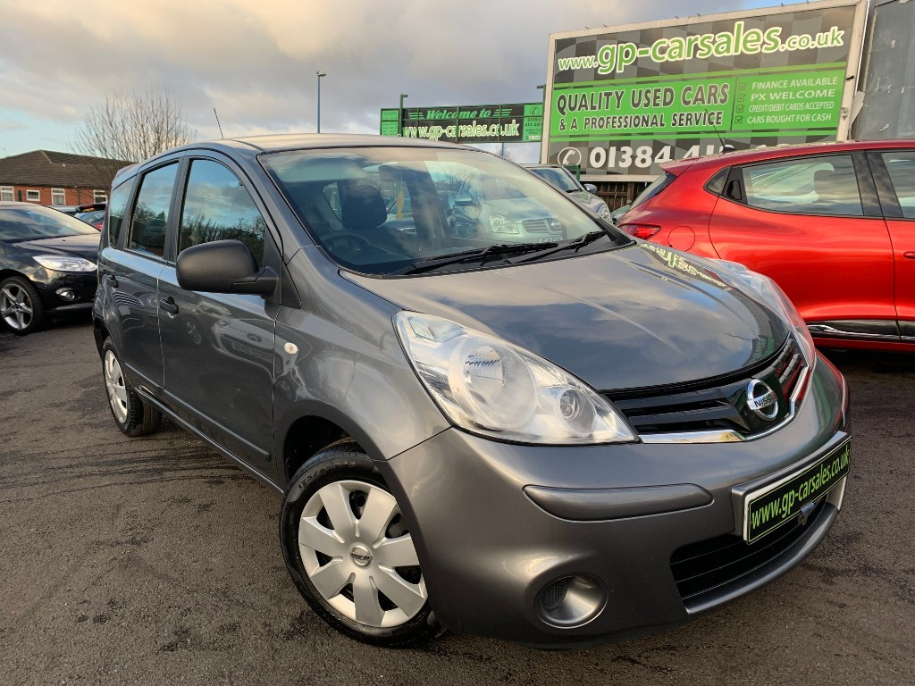 used Nissan Note  in west-midlands