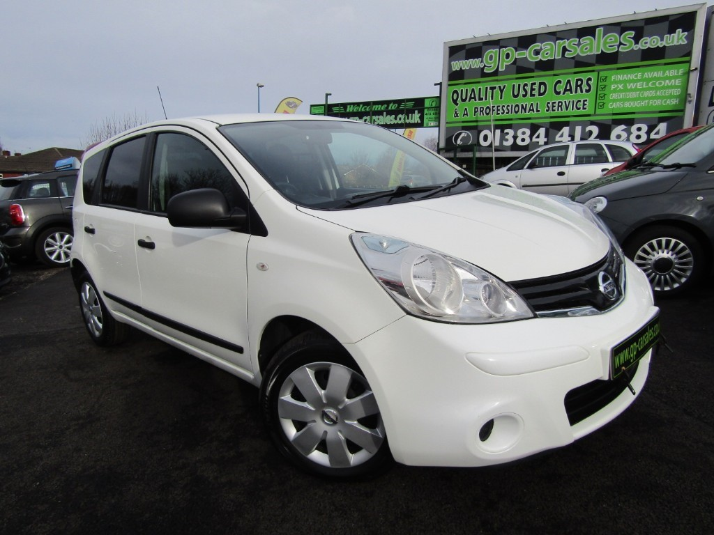 used Nissan Note DCI VISIA in west-midlands