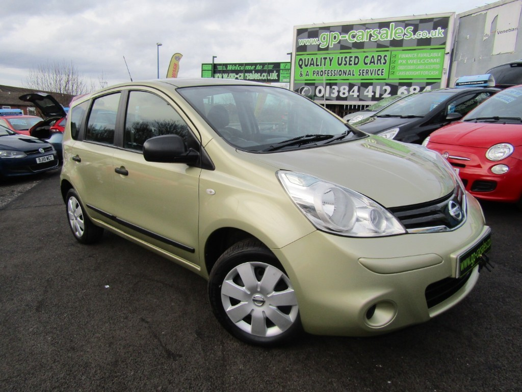 used Nissan Note VISIA in west-midlands