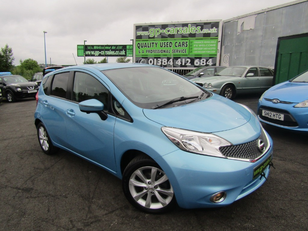 used Nissan Note DCI TEKNA in west-midlands