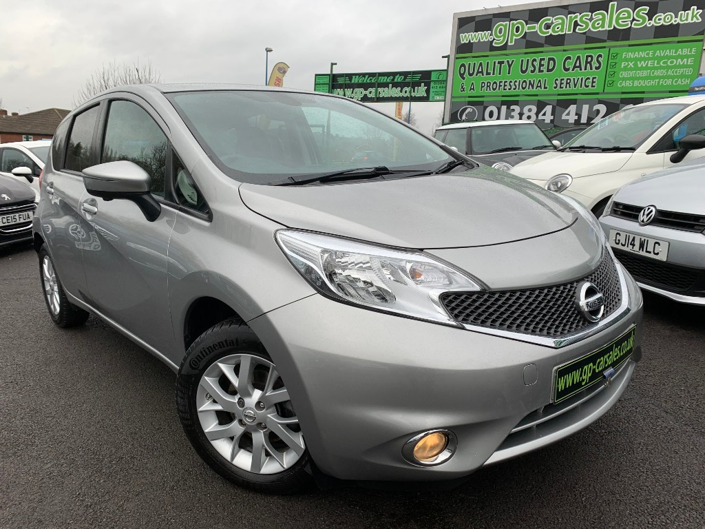 used Nissan Note ACENTA PREMIUM SAFETY in west-midlands
