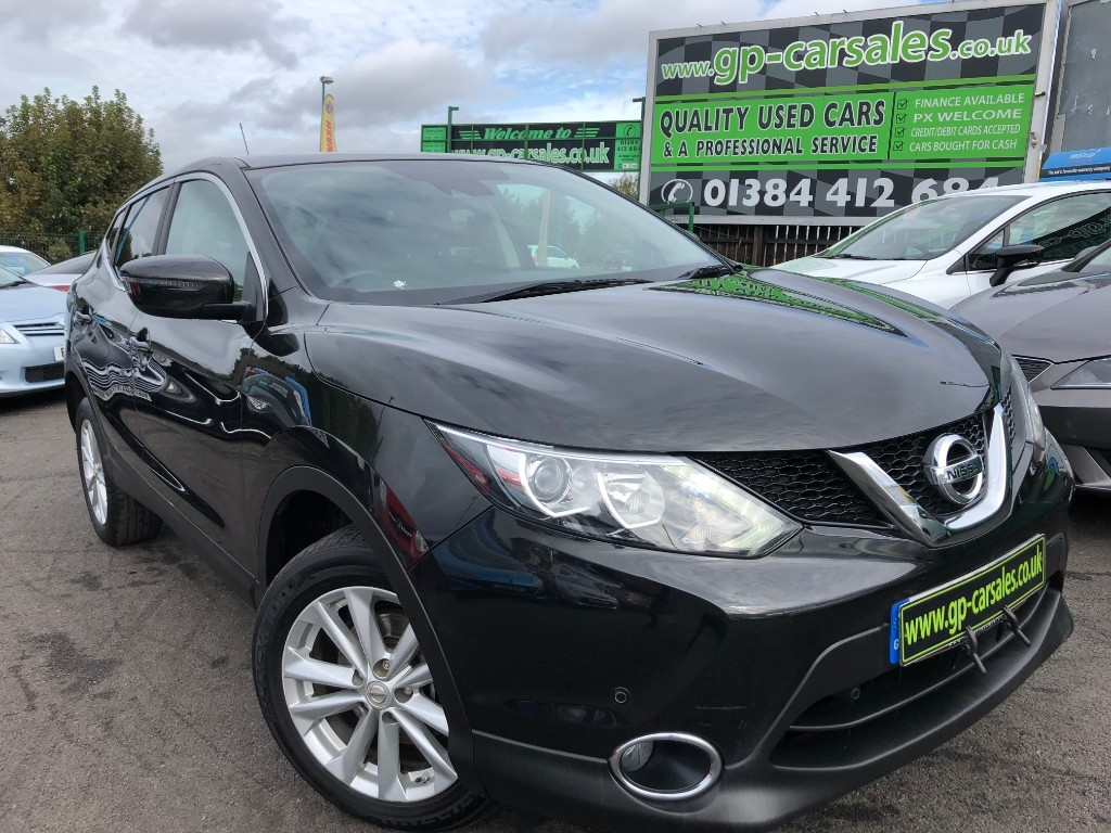 used Nissan Qashqai DCI ACENTA PREMIUM in west-midlands
