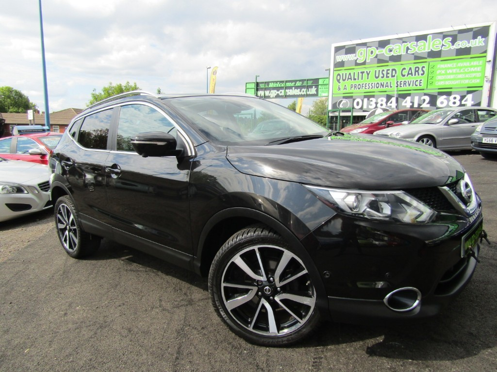 used Nissan Qashqai DCI TEKNA in west-midlands