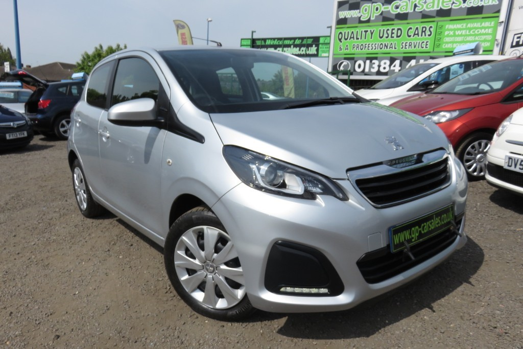 used Peugeot 108 ACTIVE in west-midlands