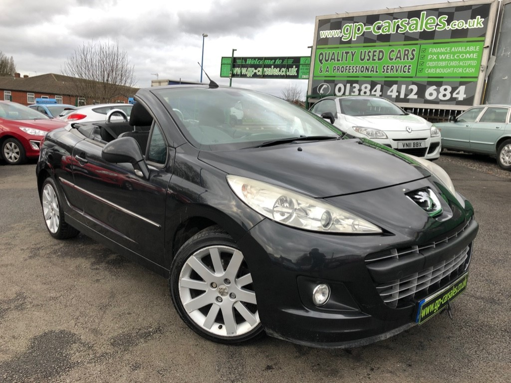 used Peugeot 207 HDI CC GT in west-midlands