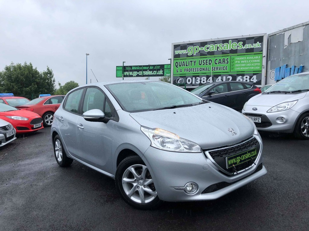 used Peugeot 208 ACTIVE in west-midlands