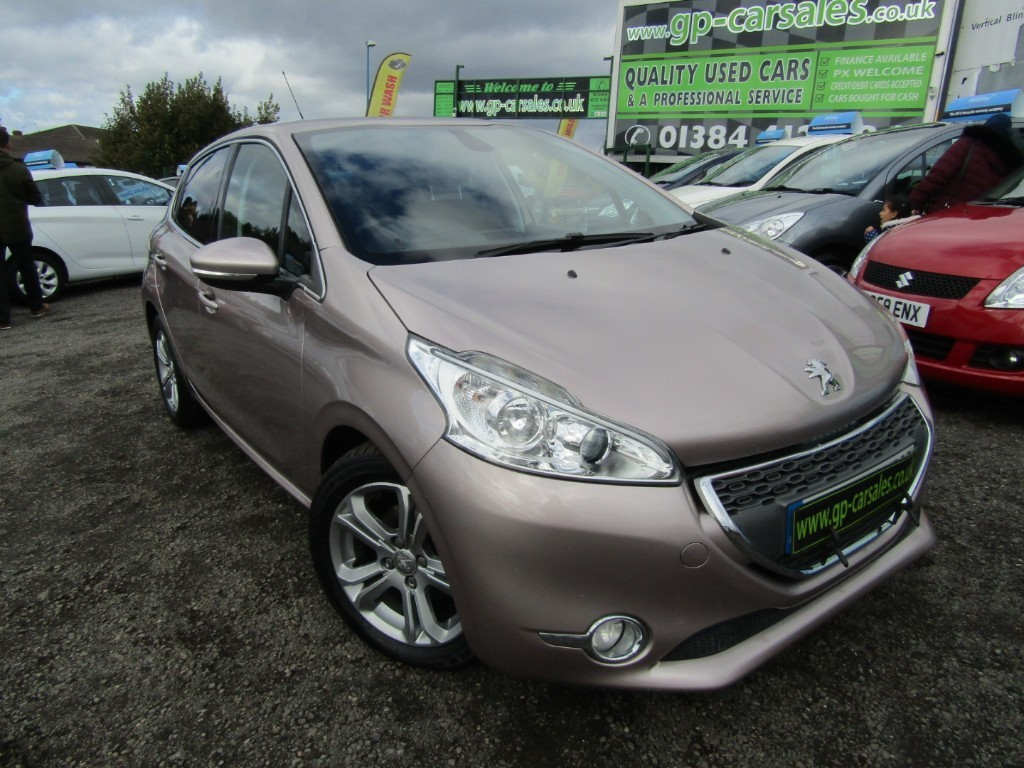 used Peugeot 208 E-HDI ALLURE in west-midlands
