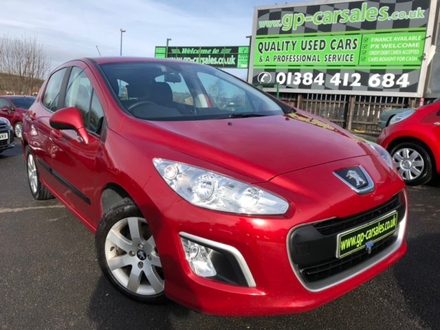 used Peugeot 308 HDI SR in west-midlands