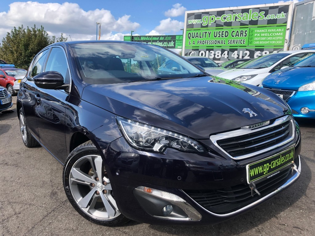 used Peugeot 308 E-HDI ALLURE in west-midlands