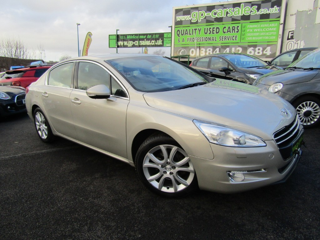 used Peugeot 508 THP ALLURE in west-midlands