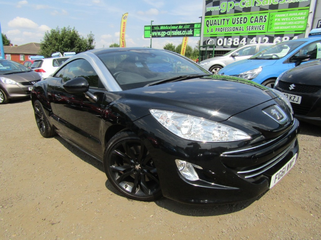 used Peugeot RCZ HDI GT in west-midlands