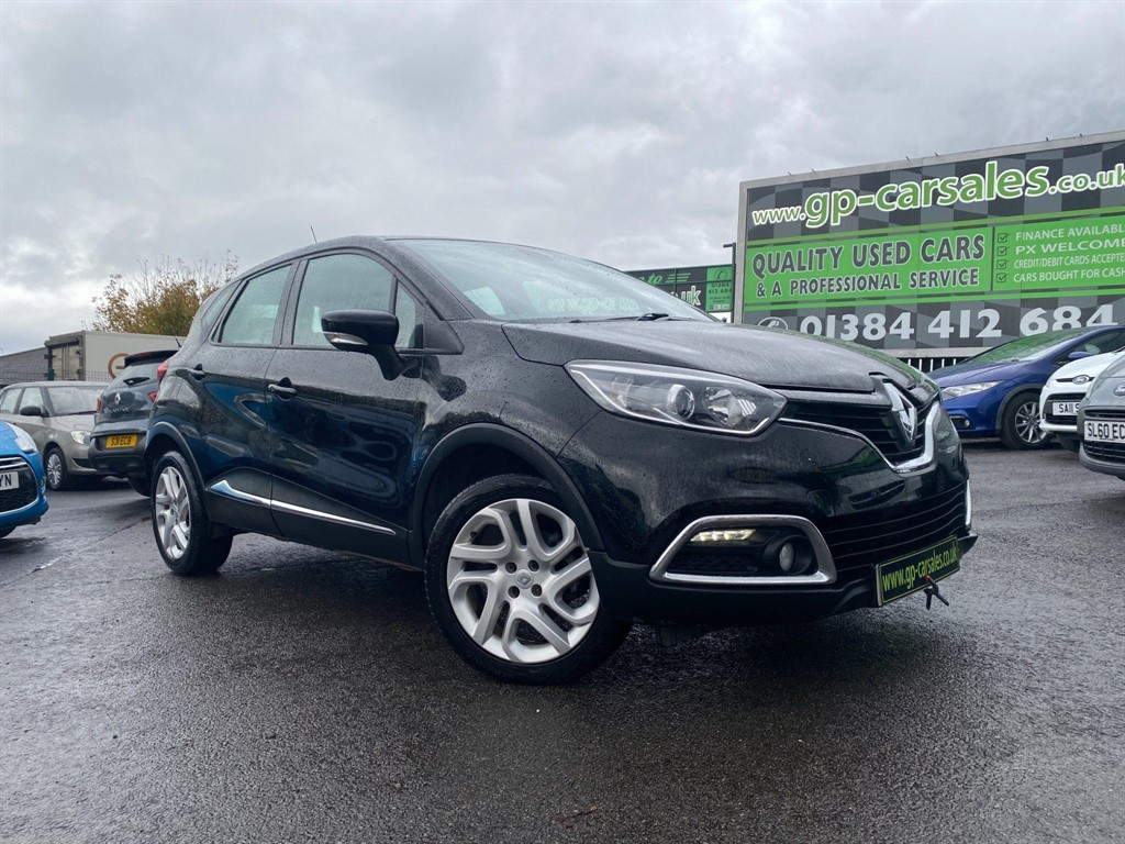 used Renault Captur ENERGY Dynamique MediaNav (s/s) in west-midlands