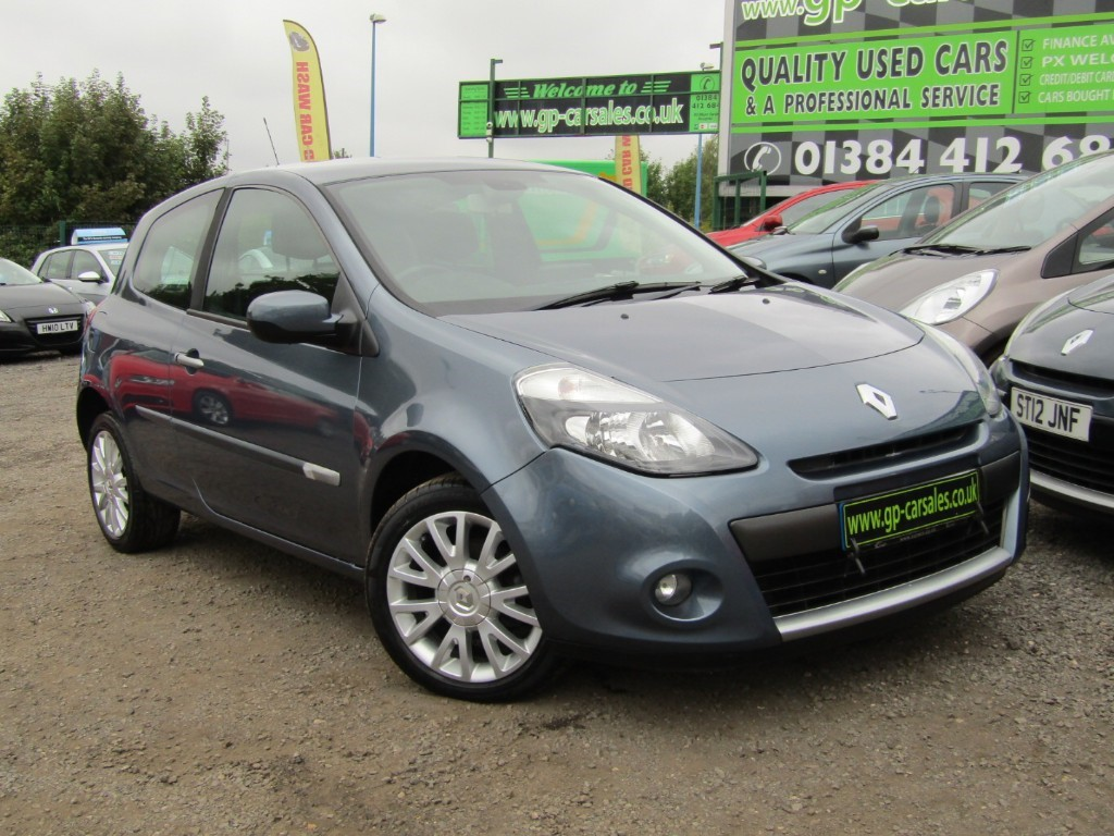 used Renault Clio TOMTOM EDITION in west-midlands