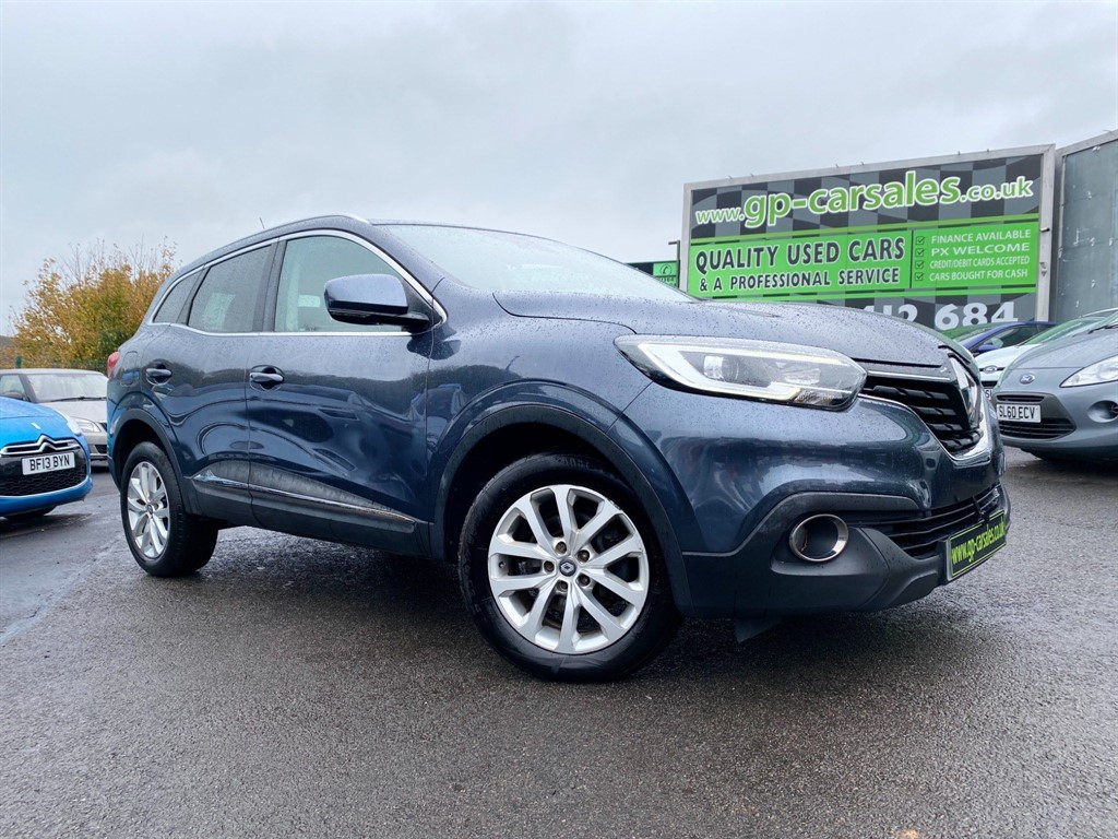 used Renault Kadjar Dynamique Nav (s/s) in west-midlands
