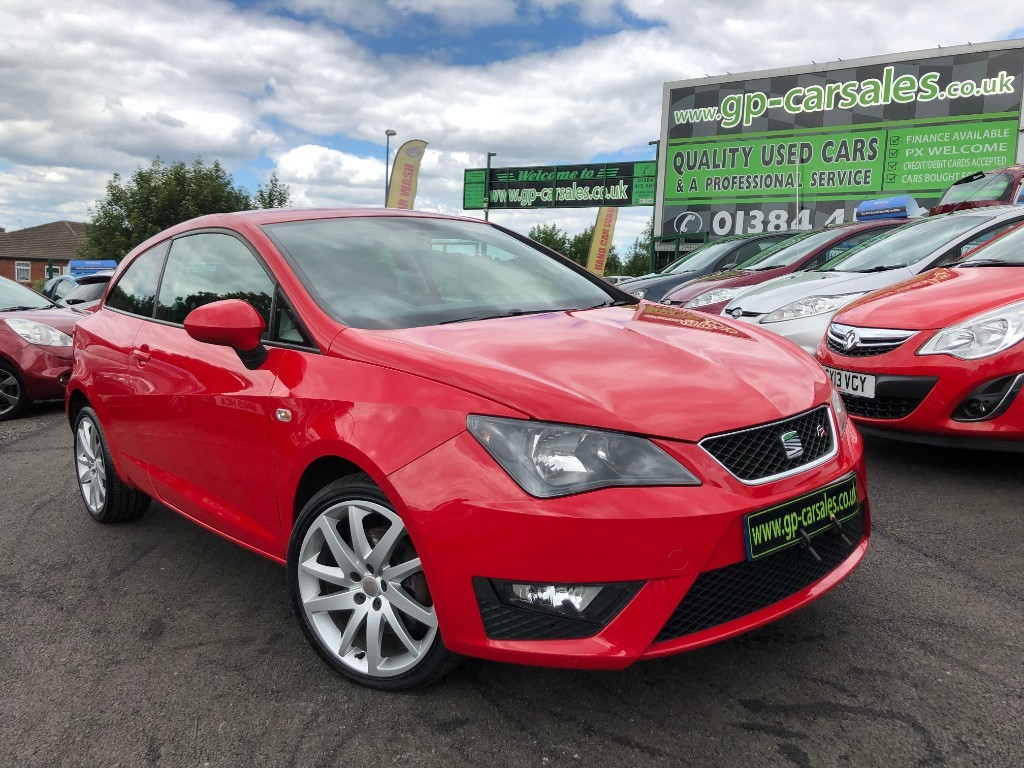 used SEAT Ibiza TDI CR FR in west-midlands