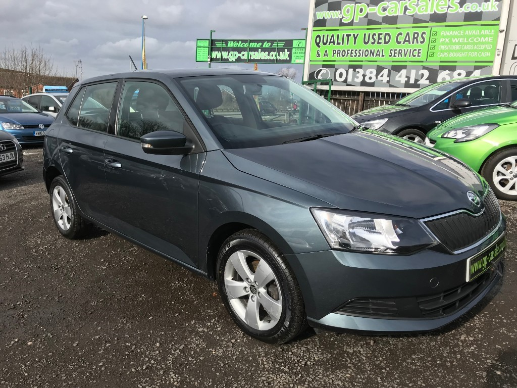 used Skoda Fabia SE TSI in west-midlands