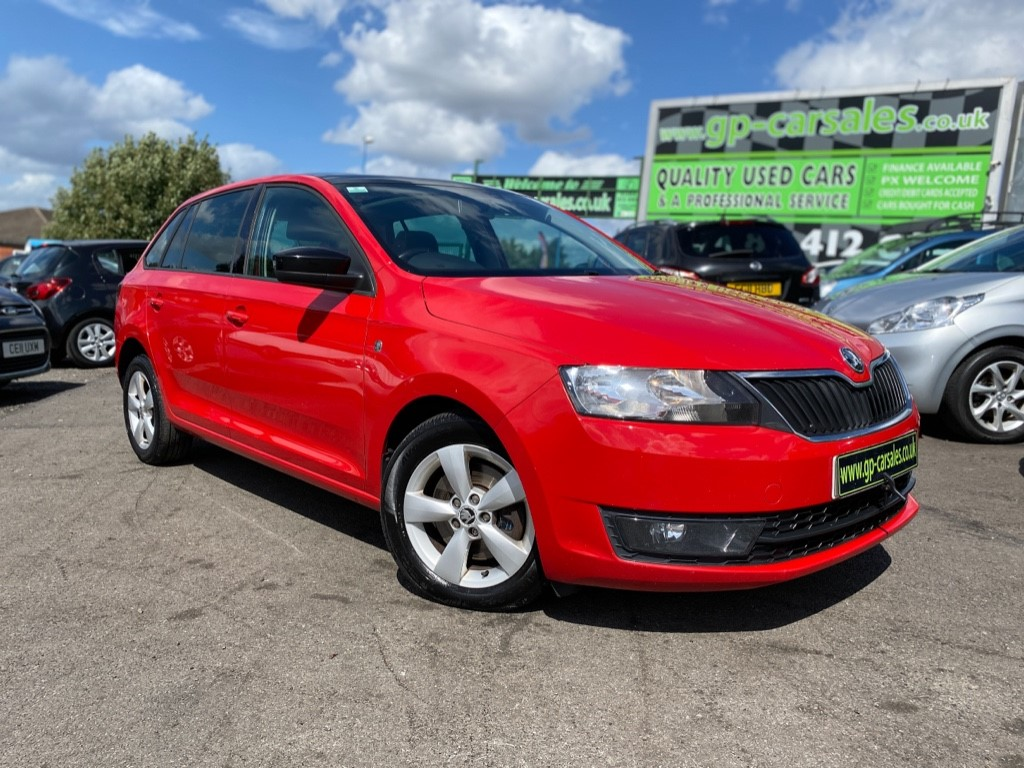 used Skoda Rapid SPACEBACK SE TDI CR in west-midlands