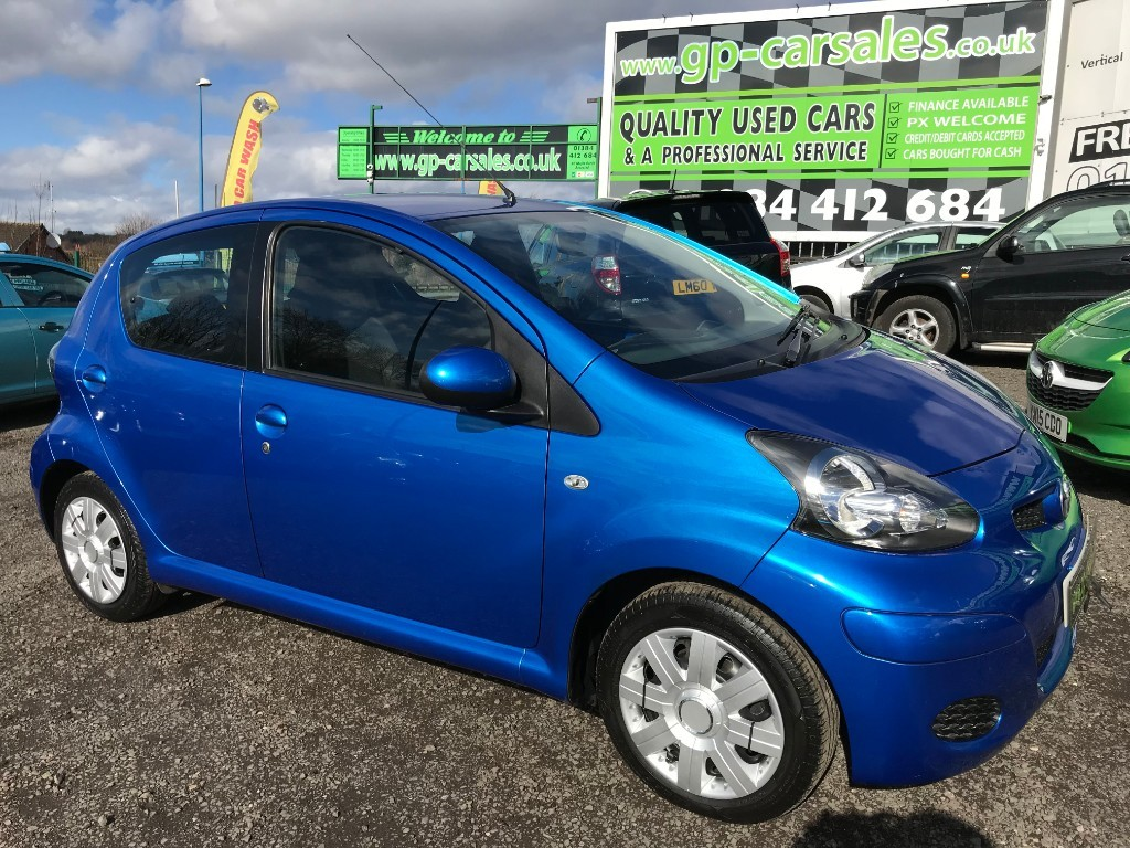 used Toyota Aygo VVT-I BLUE in west-midlands