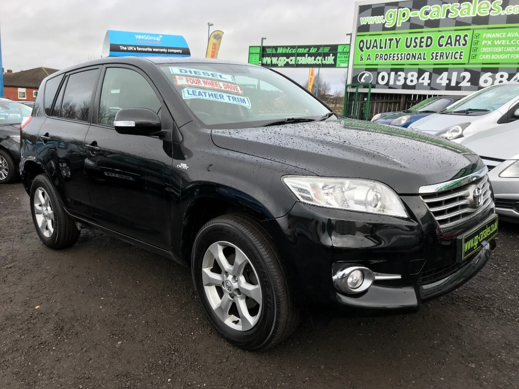used Toyota RAV4 D-CAT XT-R AWD in west-midlands