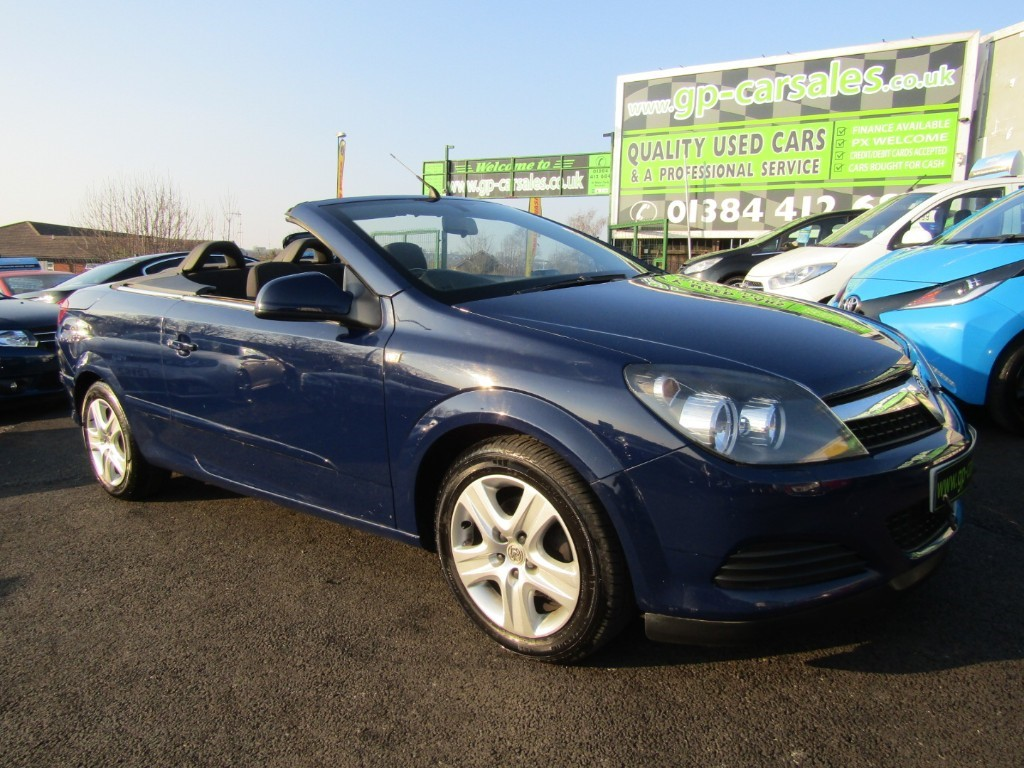used Vauxhall Astra TWIN TOP AIR in west-midlands