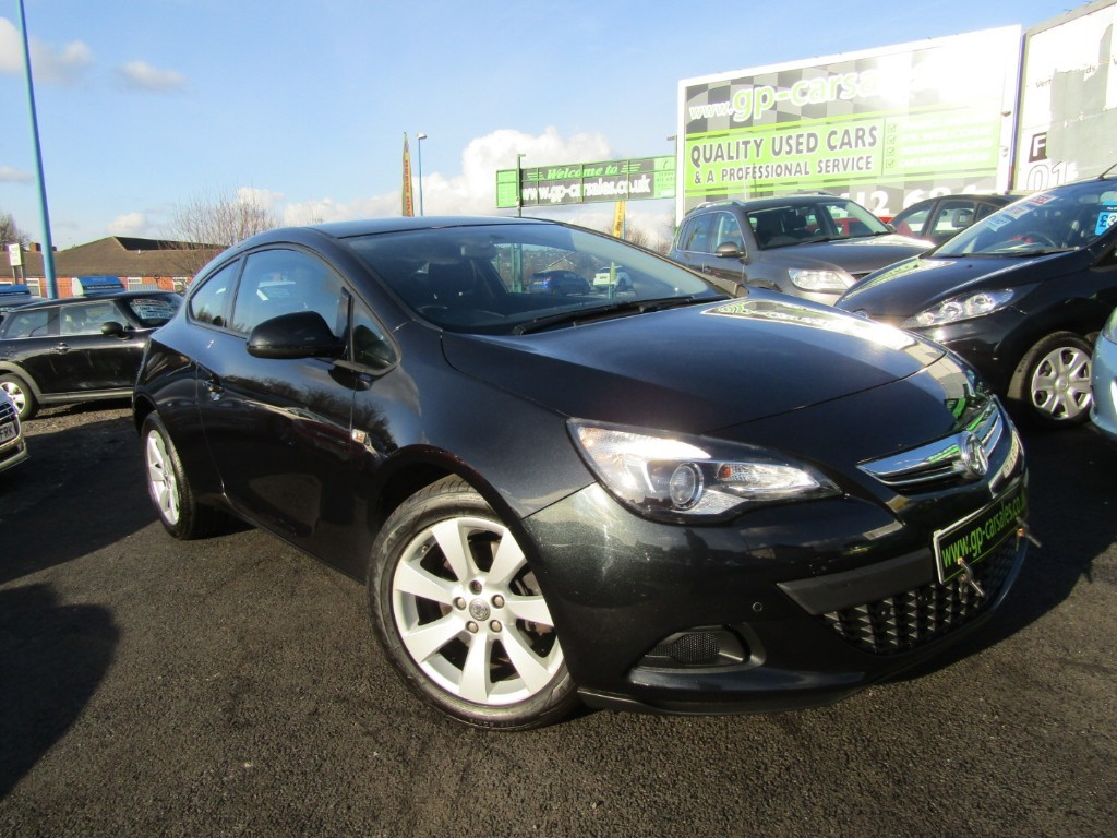 used Vauxhall Astra GTC SPORT CDTI S/S in west-midlands