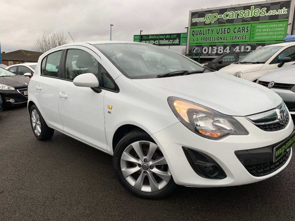 used Vauxhall Corsa EXCITE ECOFLEX in west-midlands