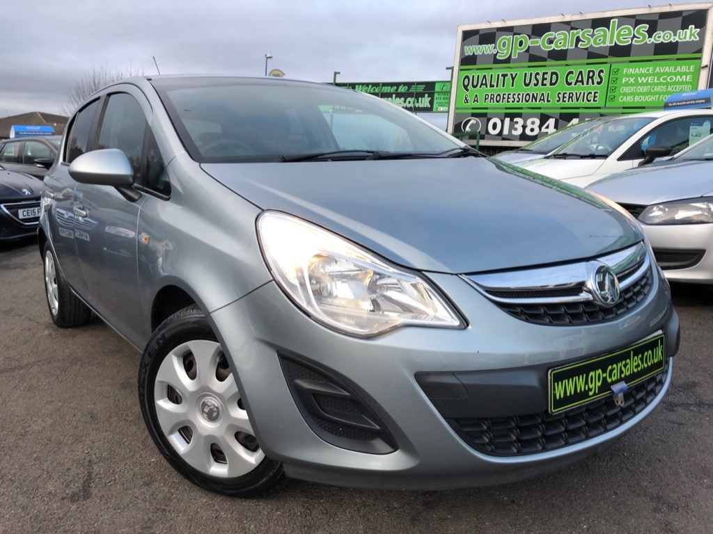 used Vauxhall Corsa EXCLUSIV AC in west-midlands