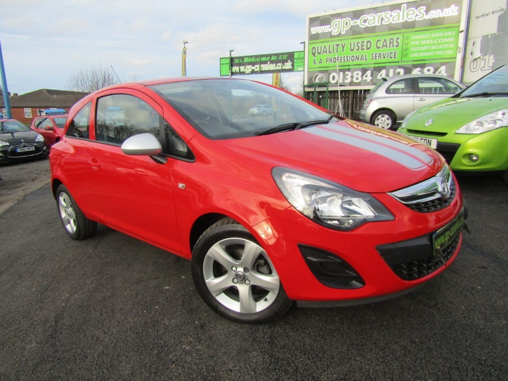 used Vauxhall Corsa STING ECOFLEX in west-midlands