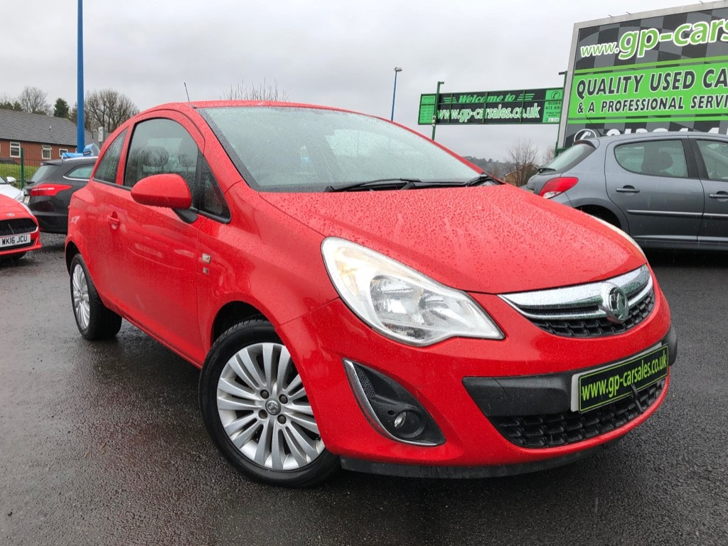 used Vauxhall Corsa EXCITE AC CDTI ECOFLEX in west-midlands