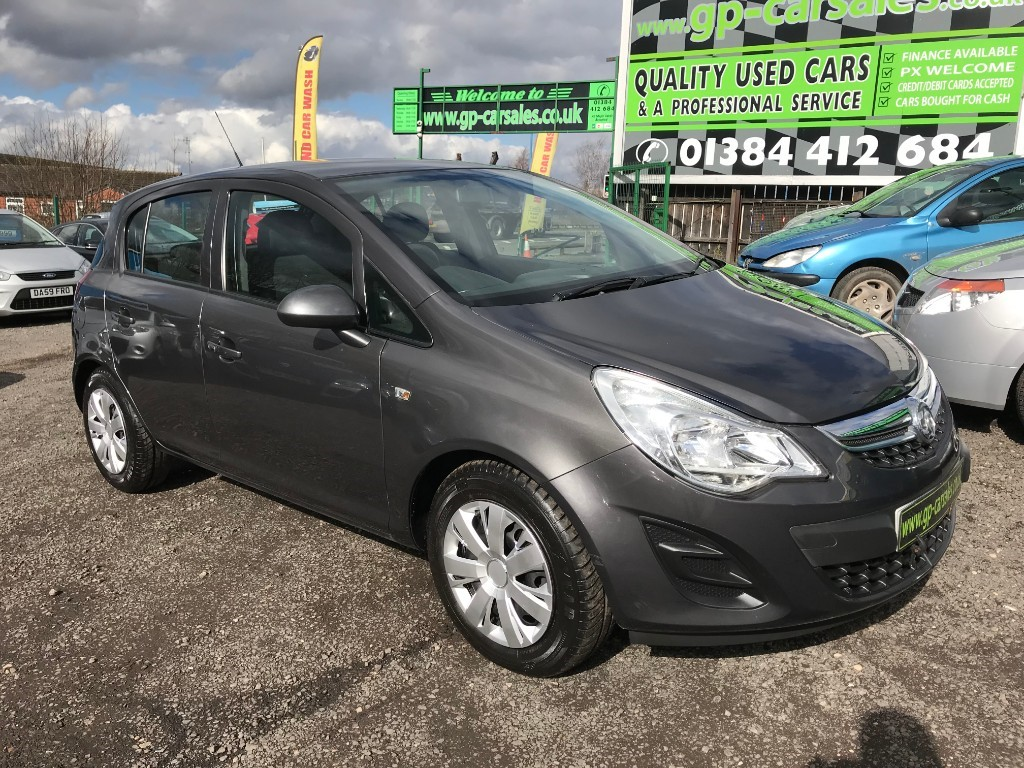 used Vauxhall Corsa EXCLUSIV AC CDTI ECOFLEX in west-midlands