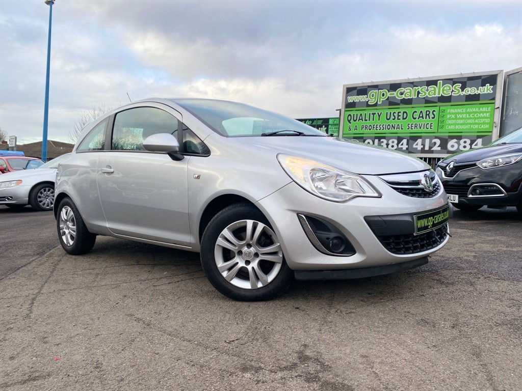 used Vauxhall Corsa 1.3 CDTi ecoFLEX 16v Exclusiv (s/s) in west-midlands