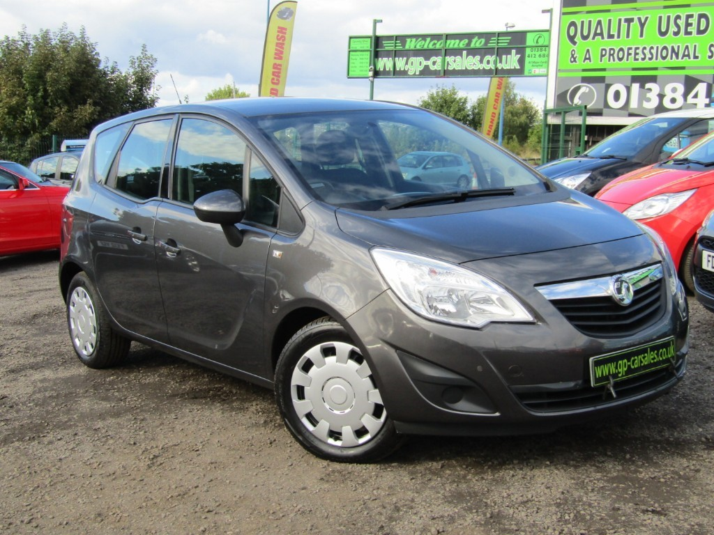 used Vauxhall Meriva S AC CDTI in west-midlands