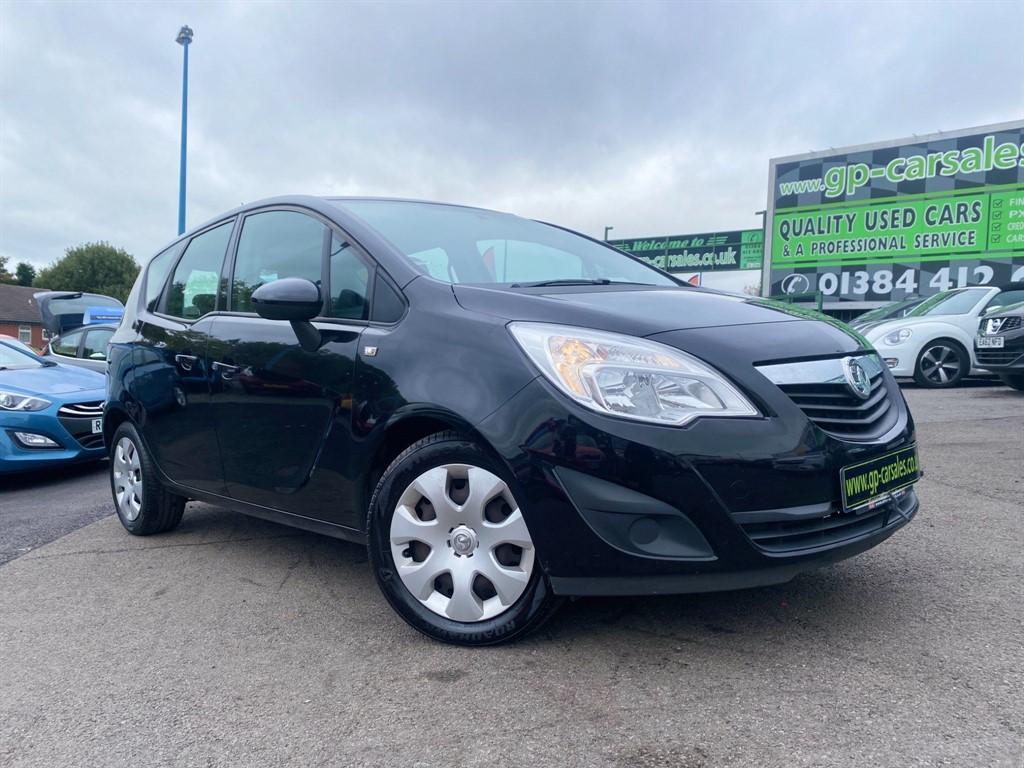 used Vauxhall Meriva 16v Exclusiv (a/c) in west-midlands