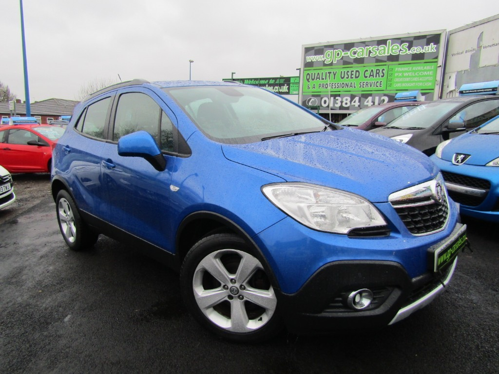 used Vauxhall Mokka EXCLUSIV CDTI S/S in west-midlands
