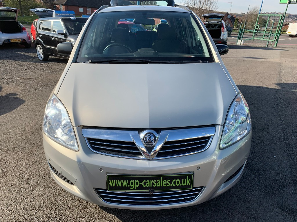 used Vauxhall Zafira EXCLUSIV CDTI ECOFLEX in west-midlands