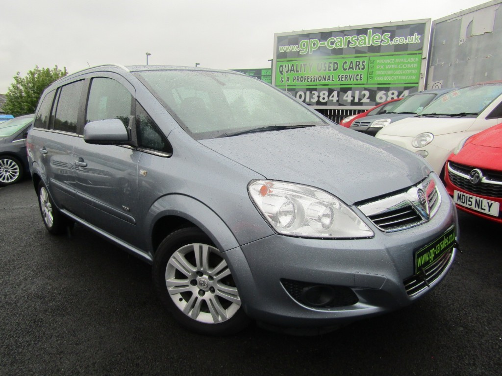 used Vauxhall Zafira DESIGN in west-midlands