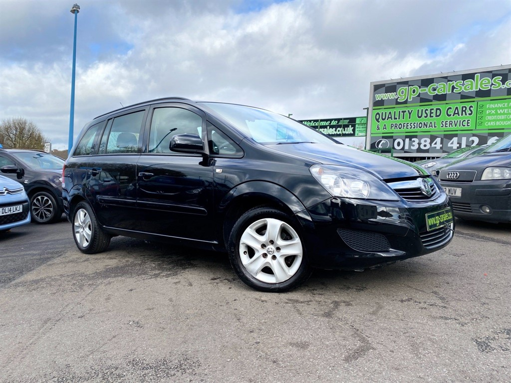 used Vauxhall Zafira 16v Exclusiv in west-midlands