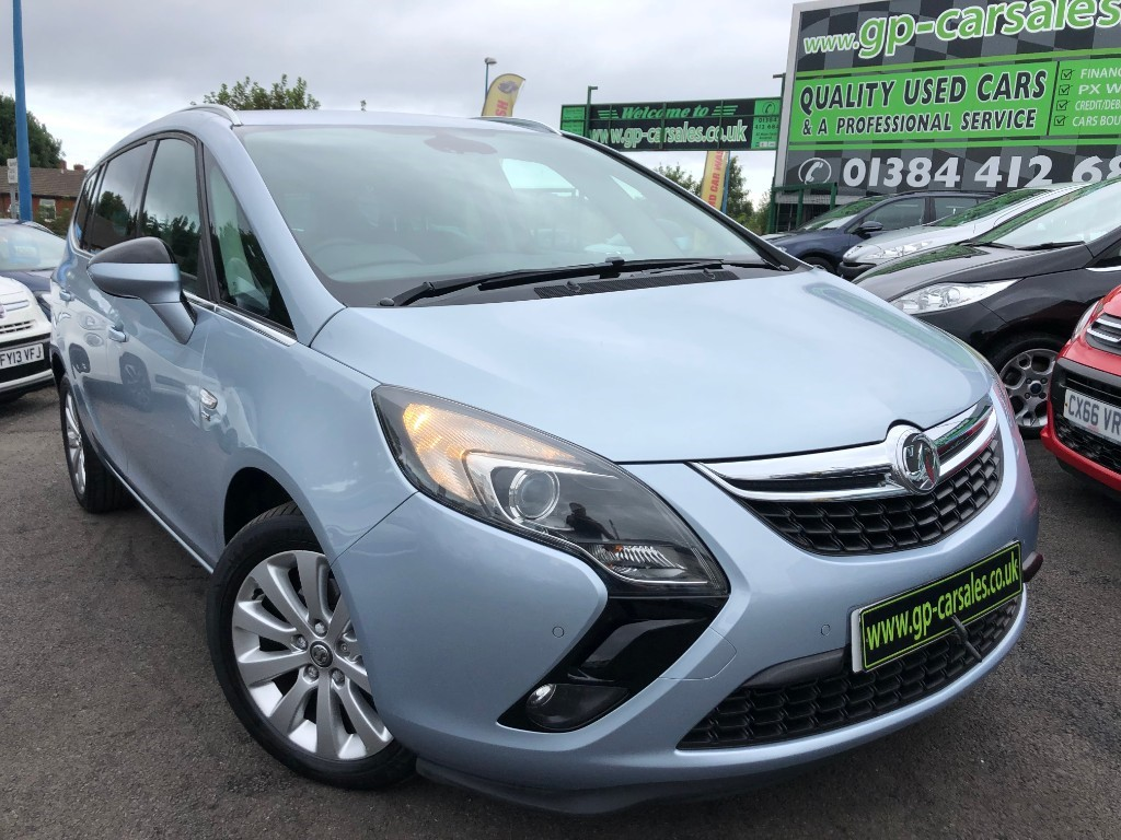 used Vauxhall Zafira Tourer SE CDTI in west-midlands