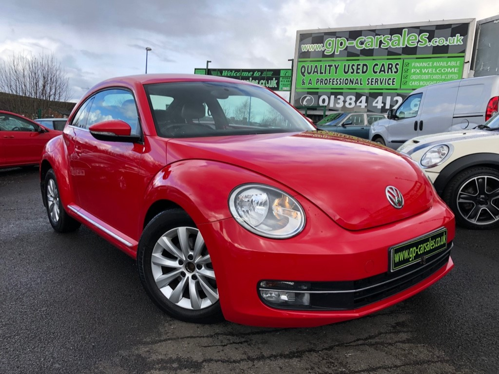 used VW Beetle DESIGN TDI BLUEMOTION TECHNOLOGY in west-midlands