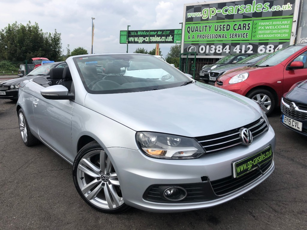 used VW Eos SE TDI BLUEMOTION TECHNOLOGY in west-midlands