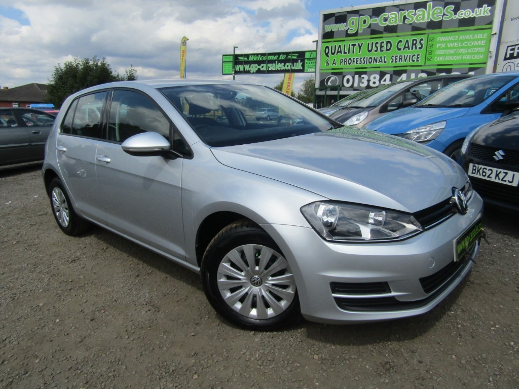 used VW Golf S TDI BLUEMOTION TECHNOLOGY in west-midlands
