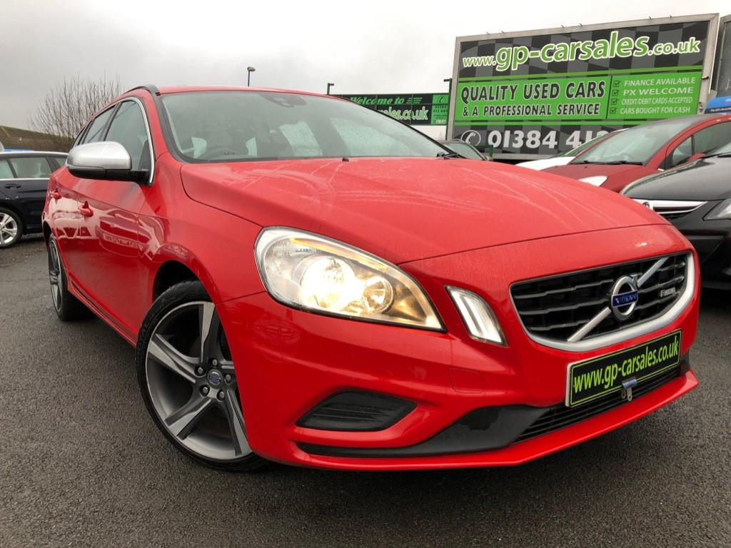 used Volvo V60 DRIVE R-DESIGN START/STOP in west-midlands