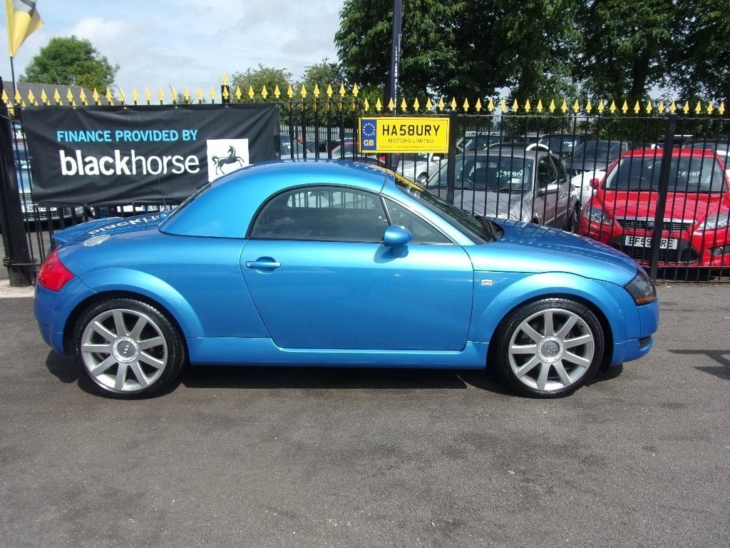 used Audi TT T Roadster Quattro 2dr in Halesowen