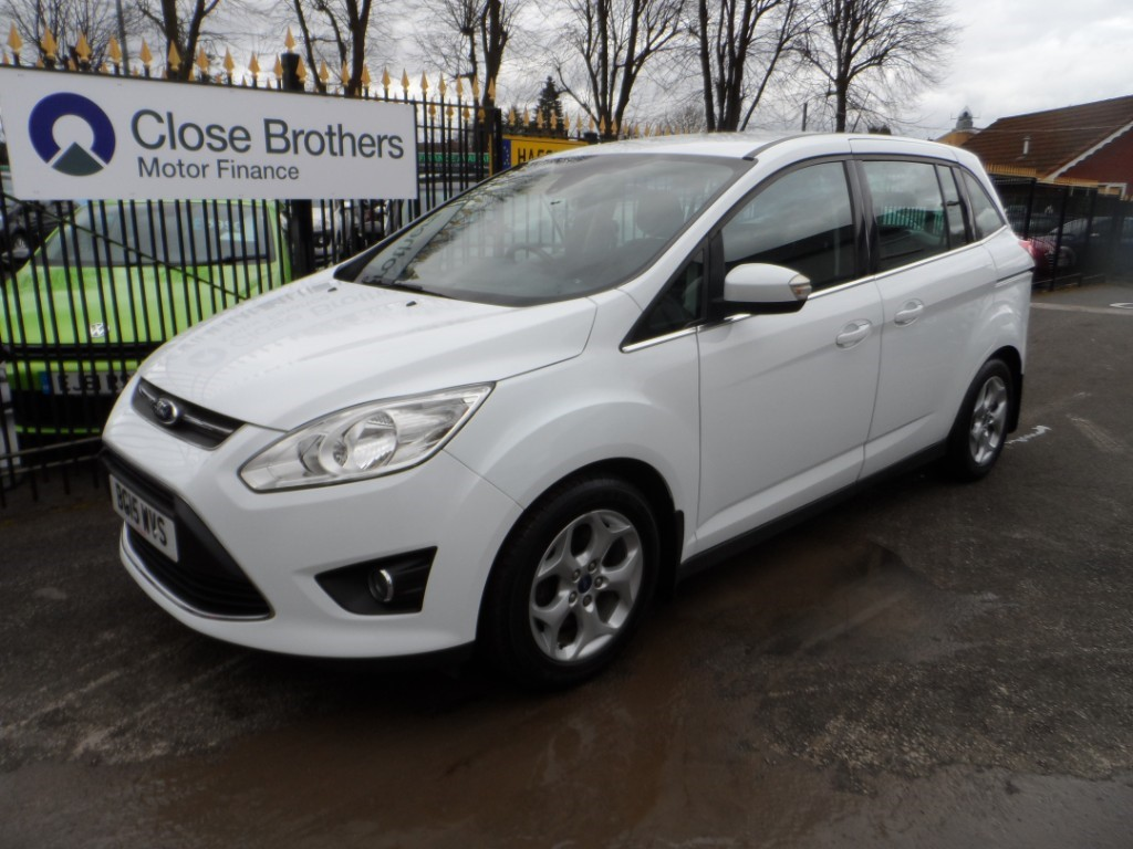 used Ford C-Max GRAND ZETEC TDCI in Halesowen
