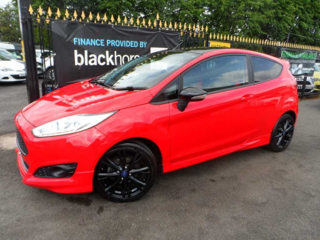 used Ford Fiesta ZETEC S RED EDITION in Halesowen