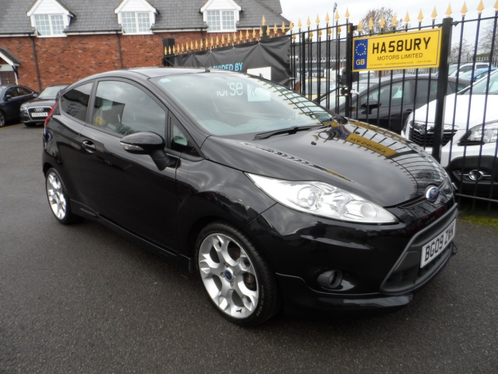 used Ford Fiesta ZETEC S in Halesowen