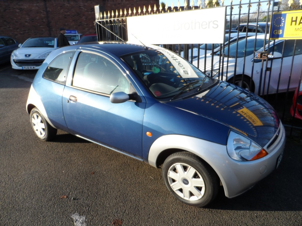 used Ford KA STYLE CLIMATE TWO-TONE in Halesowen