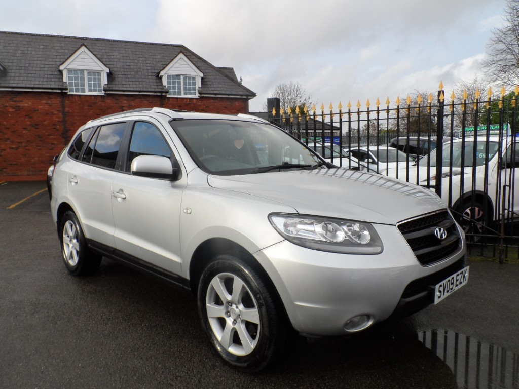 used Hyundai Santa Fe CDX in Halesowen